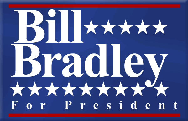 Bill Bradley for President