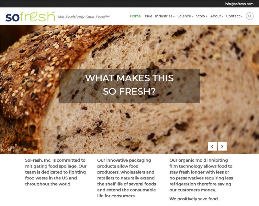 SoFresh, Inc.